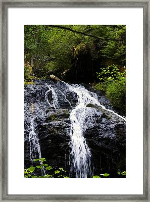Cascade Falls Framed Print