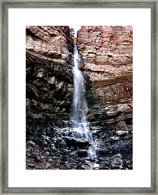 Cascade Falls Framed Print by Jeff Gater