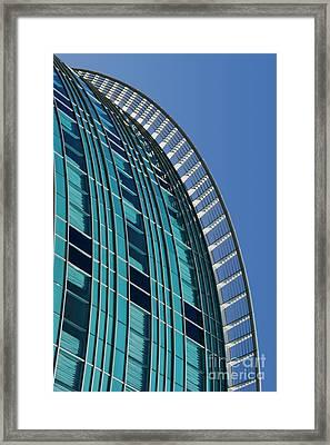 Cascade Framed Print by Nikolyn McDonald