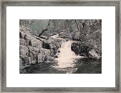 Cascade On Taum Sauk Mountain 2 Framed Print