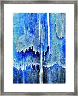 Cascade Framed Print by Tom Druin