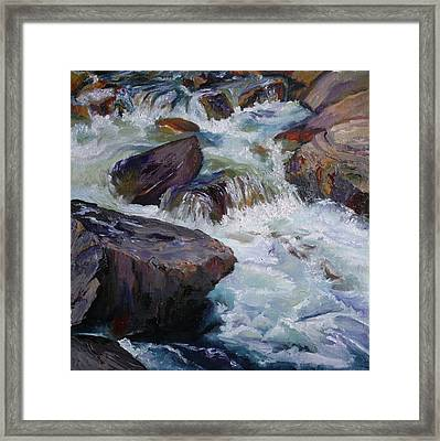 Cascades After Daniel Edmondson Framed Print