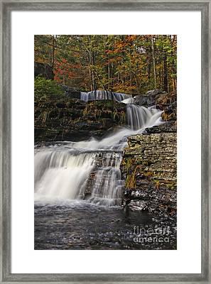 Cascading Forever Framed Print