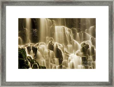 Framed Print featuring the photograph Cascading by Nick  Boren