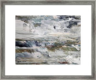 Cascading Water 2 Framed Print