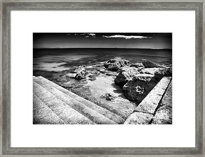 Cascais Angles Framed Print by John Rizzuto