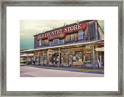 Casey Jones Village Store Framed Print