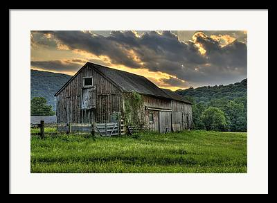 Classic New England Framed Prints