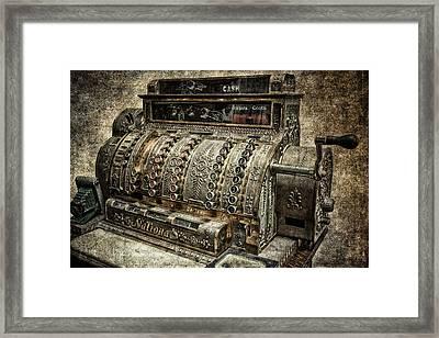 Cash - Dollars - Cents Framed Print