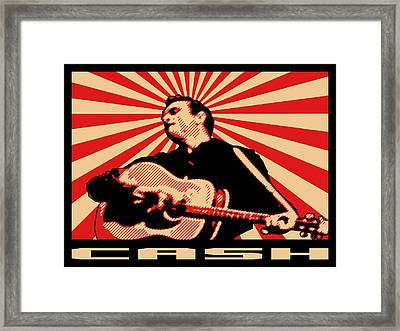 Cash Framed Print by Lance Vaughn
