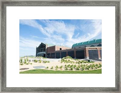 Casino Framed Print by Jeff Tureaud