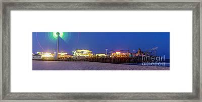 Casino Pier Seaside Framed Print