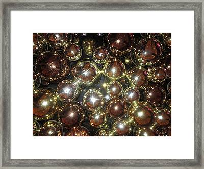 Framed Print featuring the photograph Casino Sparkle Interior Decorations by Navin Joshi