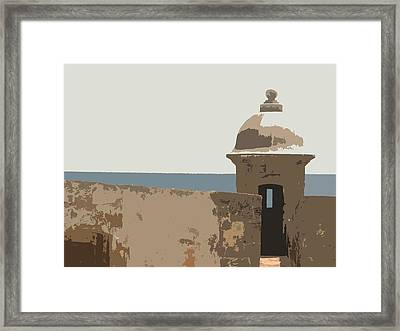 Casita Framed Print