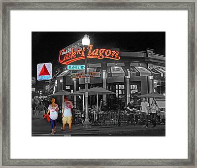 Cask And Flagon 001 Framed Print by Jeff Stallard