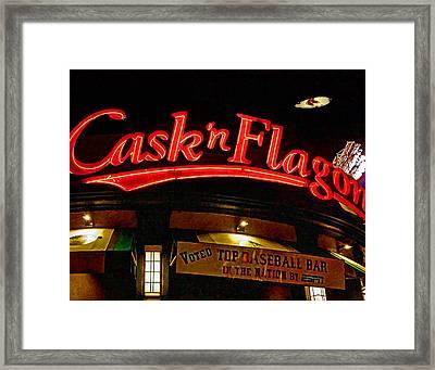 Cask And Flagon 002 Framed Print by Jeff Stallard