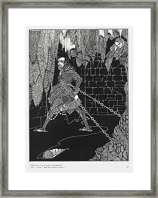 Cask Of Amontillado Framed Print by British Library