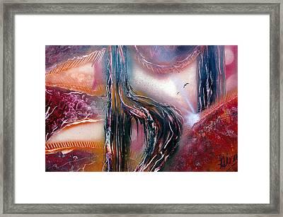 Casm Framed Print
