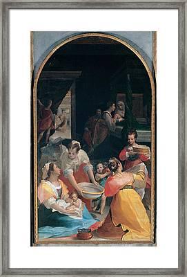 Casolani Alessandro, Birth Framed Print
