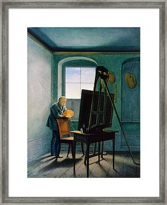 Caspar David Friedrich (1774-1840) Framed Print by Granger