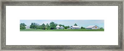 Cass County Farm Framed Print by Nikolyn McDonald