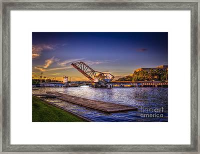 Cass Street Bridge Framed Print