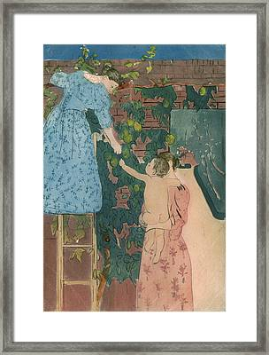 Cassatt Fruit, C1895 Framed Print by Granger