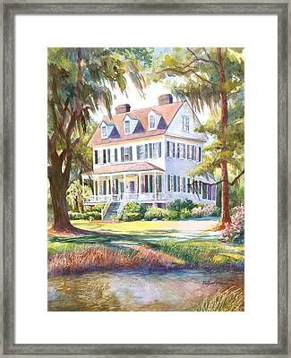 Cassina Point Edisto Island Sc Framed Print by Alice Grimsley