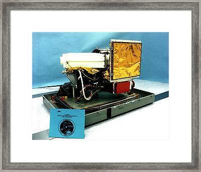 Cassini's Spectrometer Equipment Framed Print by Nasa