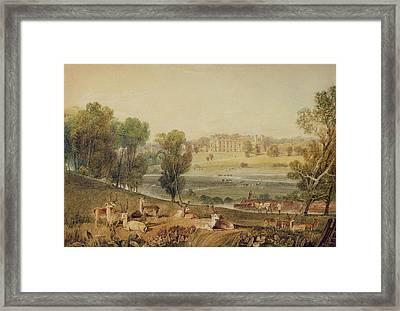 Cassiobury Park, Hertfordshire Framed Print