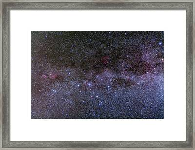 Cassiopeia Framed Print by Alan Dyer