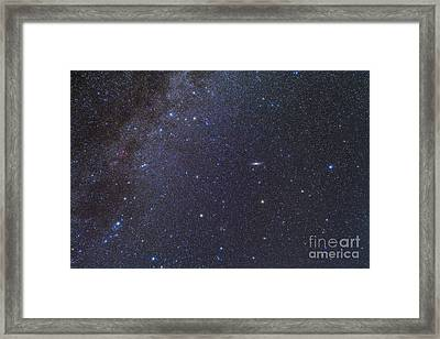 Cassiopeia, Perseus And Andromeda Area Framed Print by Alan Dyer