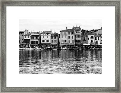 Cassis - French Seaside Town Framed Print by Georgia Fowler