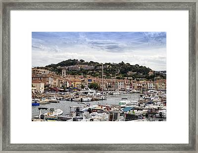 Cassis - South Of France Framed Print by Georgia Fowler