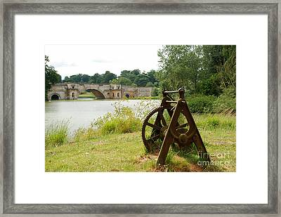 Cast Into The Future Framed Print