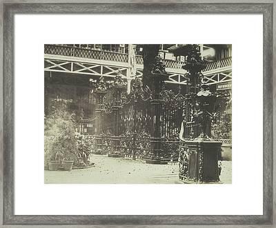 Cast Iron Gates. Coalbrookdale Company Framed Print by Artokoloro
