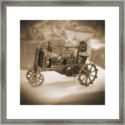 Cast Iron Toys Framed Print by Mike McGlothlen