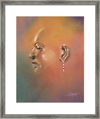 Framed Print featuring the painting Cast Reflectionn 1 by Al Brown