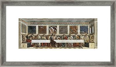 Castagno, Andrea Del 1423-1457. Last Framed Print by Everett