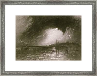 Castania Sicily Framed Print by Joseph Mallord William Turner