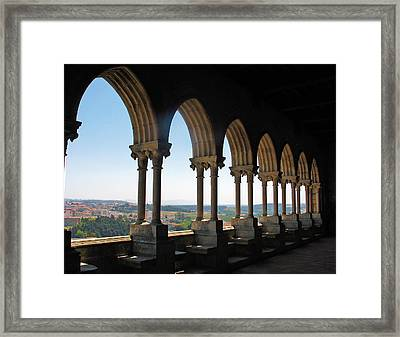 Framed Print featuring the photograph Castel Leiria by Gerry Bates