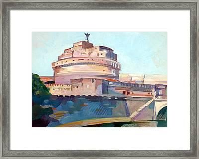 Castel Sant' Angelo Framed Print