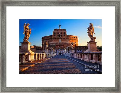 Castel Sant'angelo Framed Print