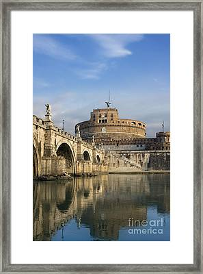 Castel Sant'angelo Framed Print by Rod McLean