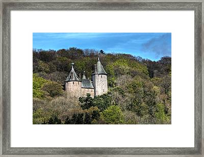 Castell Coch Cardiff Framed Print by Steve Purnell