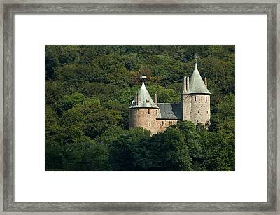 Framed Print featuring the photograph Castell Coch by Jeremy Voisey