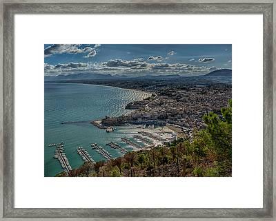 Castellammare Del Golfo Framed Print