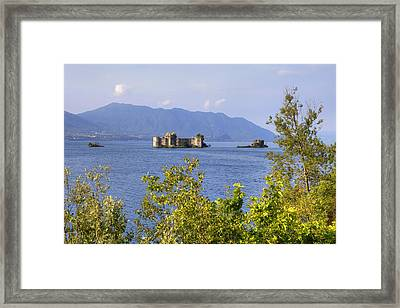Castelli Di Cannero Framed Print by Joana Kruse