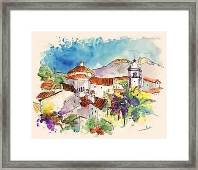 Castelo De Vide In Portugal 01 Framed Print by Miki De Goodaboom