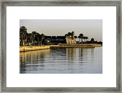 Framed Print featuring the photograph Castillo De San Marcos by Anthony Baatz